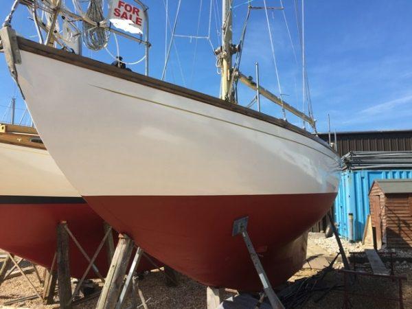Dickie's of Tarbert sloop