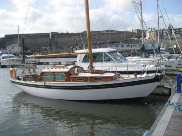 Laurent Giles Normandy sloop