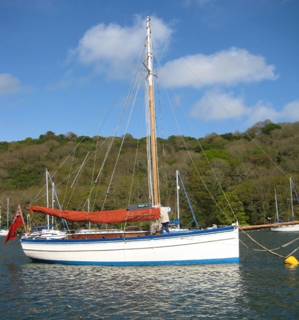 32 39 6 westcountry gaff cutter wooden sailing yacht for sale for Fishing gaffs for sale