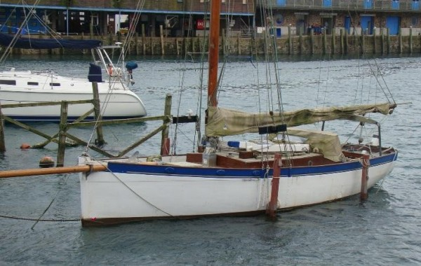 For sale cornish gaff cutter wooden sailing yacht for Fishing gaffs for sale