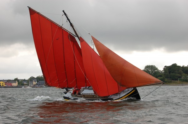 For Sale Galway Hooker Wooden Sailing Yacht