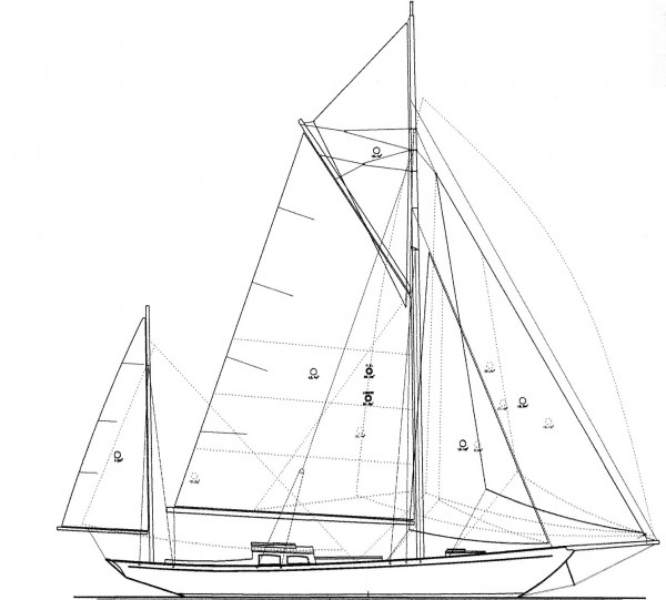 43′ Holman Yawl – NEW BUILD