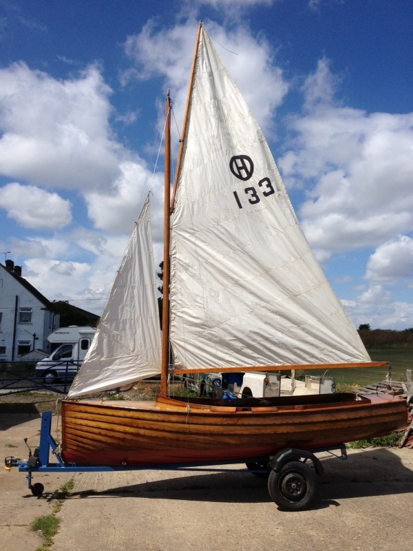 Gibb Halcyon Sailing dinghy