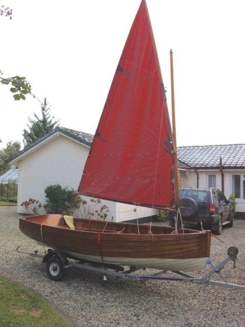 Mylne sailing dinghy