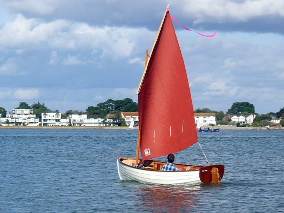 Iain Oughtred Puffin dinghy