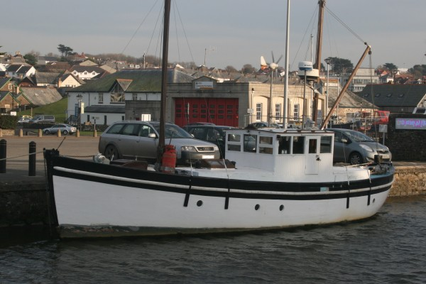 Scottish Trawler Yacht