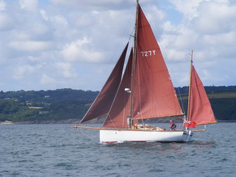 Falmouth Quay Punt Yacht