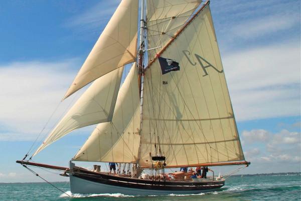 Pilot Cutter Yacht