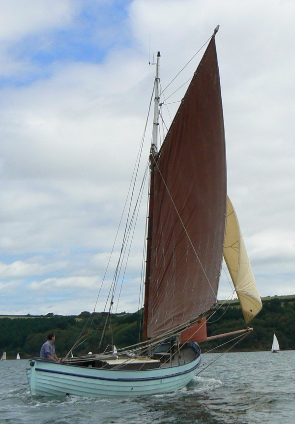 Swedish Gaff Cutter