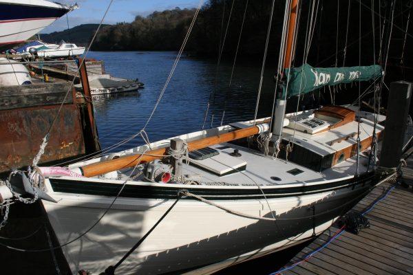 36′ Cornish Gaff Cutter