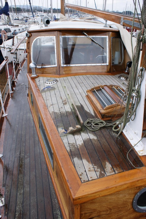 Miss Silver Ketch Wooden Sailing Yacht For Sale