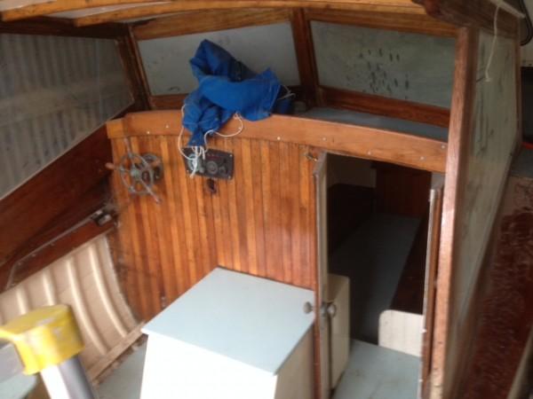 Cabin Cruiser wooden motor yacht for sale