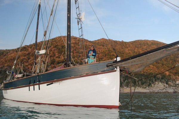 Norwegian Gaff Ketch Wooden Sailing Yacht For Sale