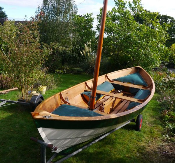 Ian Oughtred Ness wooden sailing boat for sale
