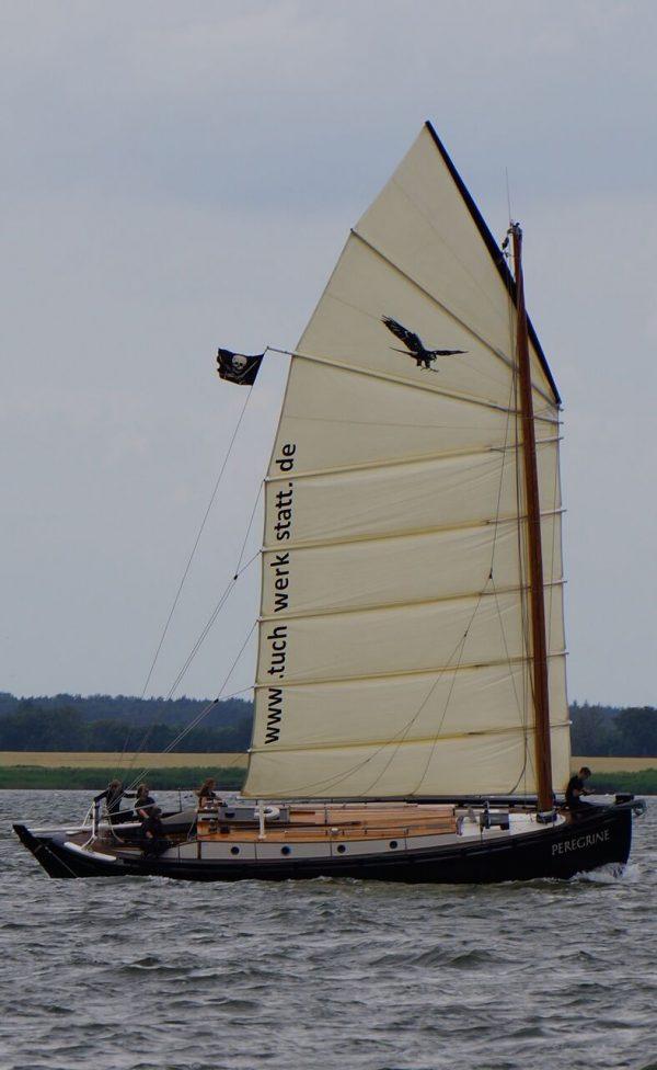 Loch Fyne Skiff inspired yacht
