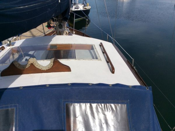 Berthon Motor Sailer Wooden Sailing Yacht For Sale