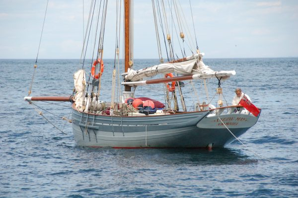 Luke Powell Gaff Cutter Lizzie May for sale