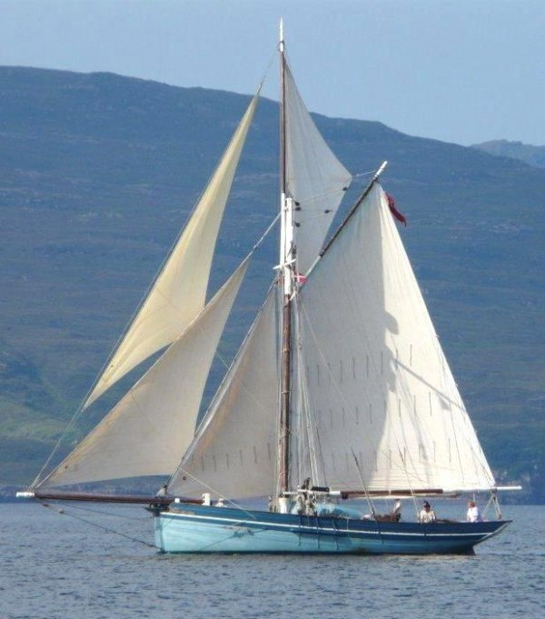 Luke Powell Isles of Scilly pilot cutter