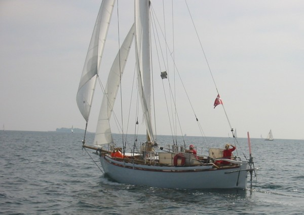 32′ Colin Archer type bermudan cutter