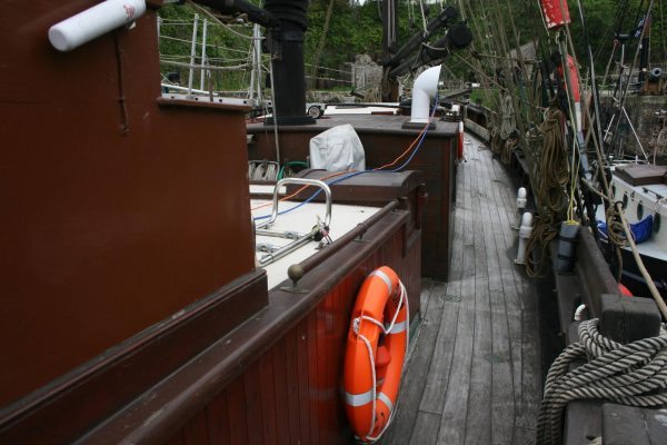 Baltic Trader Gaff Ketch for sale  MCA coded 2004 for charter