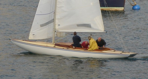 international dragon one design wooden sailing yacht for sale