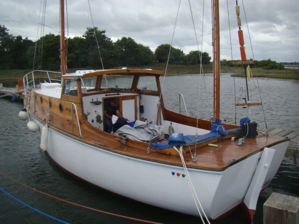 West country motor sailer