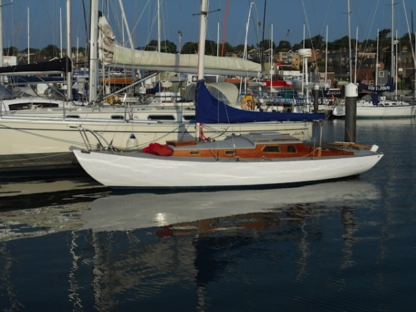 For Sale Folkboat Wooden Sailing Yacht