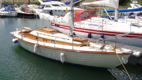 Cyril White Folkboat