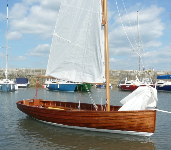 Bantham C Class Wooden Sailing Dinghy For Sale
