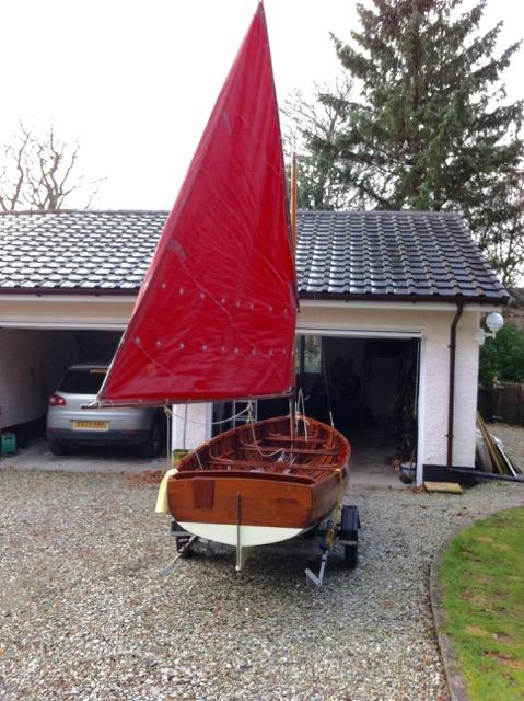 Mylne sailing dinghy