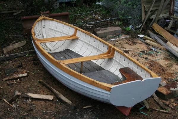 McGruer rowing boat