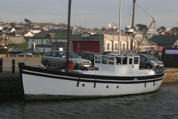 Scottish Trawler Yacht