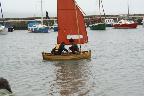 Morgan Giles design New Build Lugsail dinghy