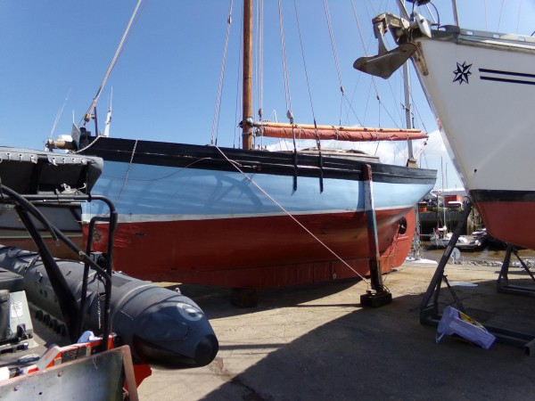 West Country Gaff Cutter