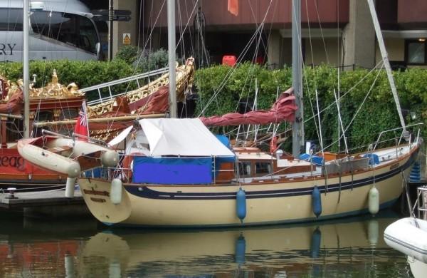 35′ Laurent Giles sloop