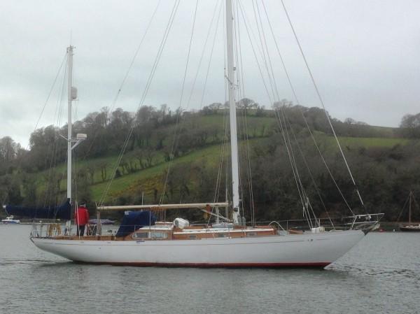 Buchanan Yawl wooden sailing yacht For Sale