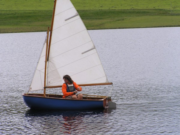 Fairey Duckling sailing dinghy