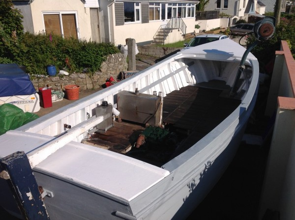24′ West Country Fishing launch