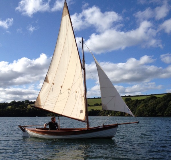 Selway Fisher Islay Wooden Skiff For Sale
