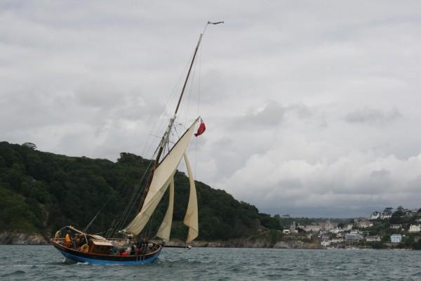Pilot Cutter Sailing