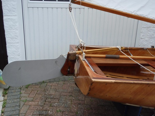 Fairey Duckling sailing dinghy