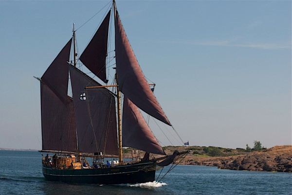 Norwegian Gaff ketch