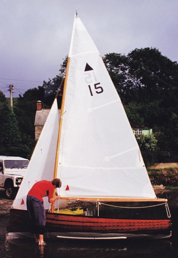 Helford Delta sailing dinghy