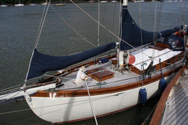 Classic Bermudan Yawl