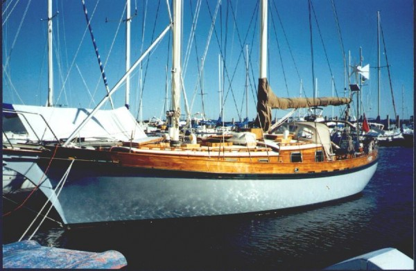 38′ Staysail Schooner