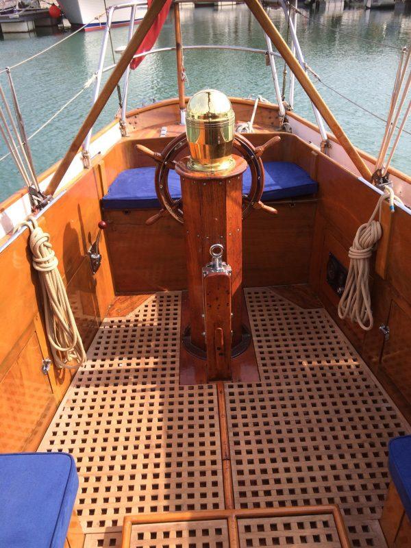 Fred Parker Bermudan sloop