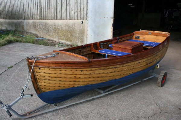 13 Coves Wooden Sailing Launch Small Craft For Sale
