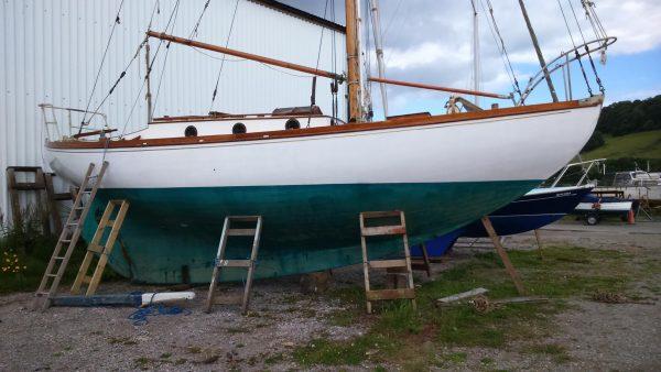 Harrison Butler 'Rose of Arden' Bermudan Cutter