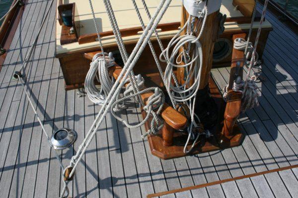 Woodnutts Bermudan cutter
