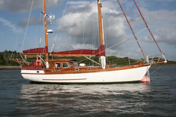 Wooden Sailboats For Sale >> John Negus Bermudan Ketch Wooden Sailing Yacht For Sale